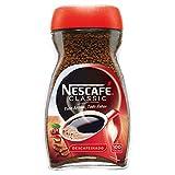 NESCAFÉ Café Classic Café Soluble Descafeinado, Bote de cristal, Paquete de 6x200g de Café - Total 1,2 Kg