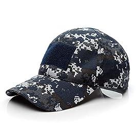 Casquette de Baseball,Camouflage Casquette Militaire Tactique Armée Casquettes dans Bundle Hommes Garçon Unisexe Coton…