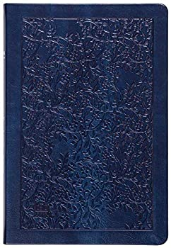The Passion Translation New Testament  2020 Edition  Large Print Navy  With Psalms Proverbs and Song of Songs  Faux Leather  – A Perfect Gift for Confirmation Holidays and More