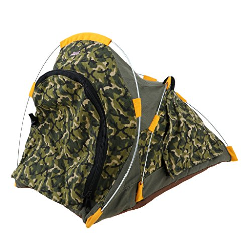Fashion Dolls Outdoor Camping Tents Camouflage Tent For 1:6 Soldier Accessories Scene Cosplay Toys