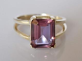 Laboratorio 100% a colori modificato Creato in argento sterling 925 con anello in argento massiccio da 6 a 31 IT