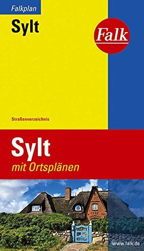 Falk Stadtplan Extra Standardfaltung Sylt 1:40 000