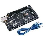 ELEGOO Mega2560 R3 Mikrocontroller ATmega2560 ATMEGA16U2 mit USB-Kabel Kompatibel mit Arduino IDE