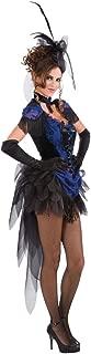 Costume Victorian Raven Showgirl Dress