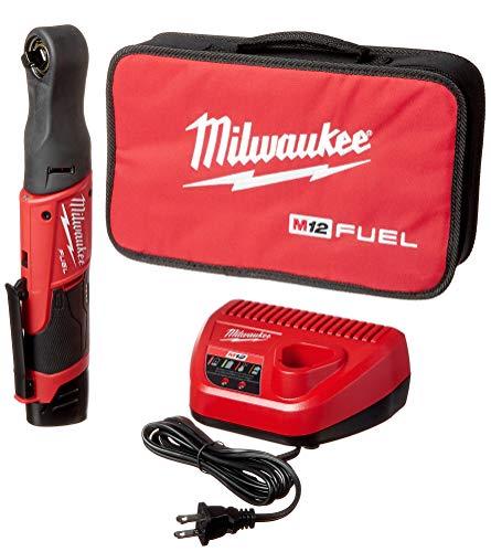 Milwaukee (MLW255721) M12 FUEL 3/8' Ratchet Auto Kit