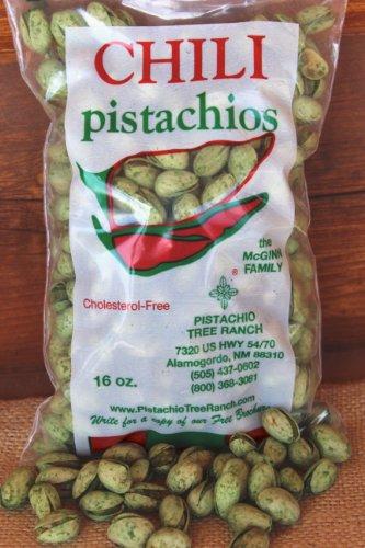 Green Chili Pistachios 16 oz. bag