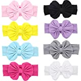 Baby Super Stretchy Nylon Knotted Headbands Baby Headwraps Baby Headbands Bows (Q13)