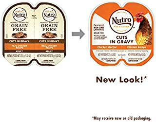 NUTRO Perfect PORTIONS Grain Free Cuts in Gravy Natural Wet Cat Food