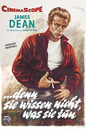 1art1 34739 Denn Sie Wissen Nicht was Sie Tun Poster - James Dean, 86 x 60 cm