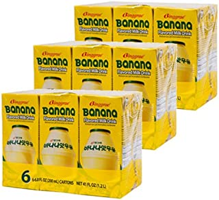 Binggrae Banana Milk 18 Pack 6.8 Fl Oz