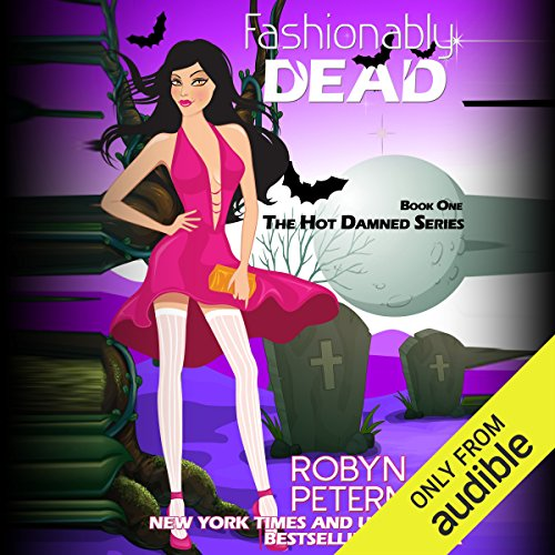 Fashionably Dead audiobook cover art