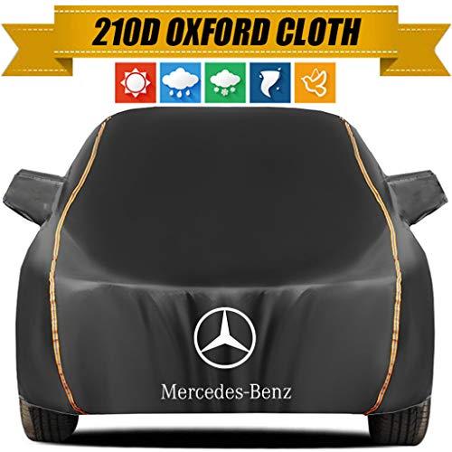 ZMQWE Telo Copriauto Compatibile con Mercedes-Benz GLA Class,GLB Class Telo Copriauto Antigrandine Telo Impermeabile Telo Auto Esterno Impermeabile E Traspirante,GLA Class