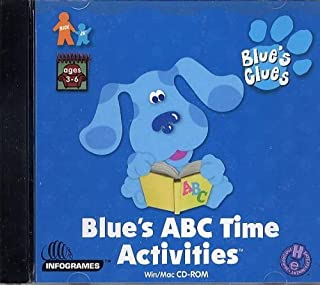 blue's clues blue's reading time activities