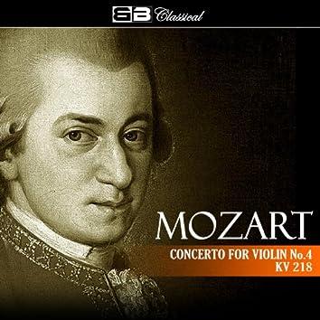 Mozart, Concerto for Violin No. 4 KV 218