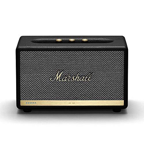 Marshall Acton II Wireless Wi-Fi Multi-Room Smart Speaker with Amazon Alexa Built-in (Black) (1002493)