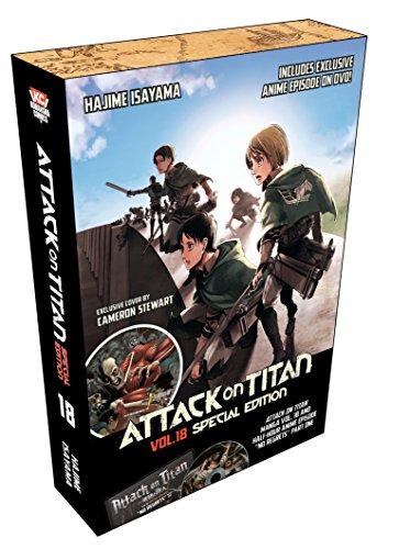 Attack on Titan 18 Special Edition w/DVD
