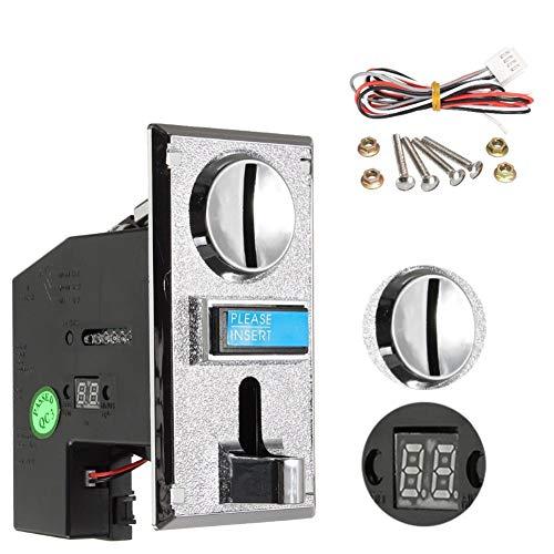 J 6 Selectores de máquinas expendedoras de Monedas, Salida de señal múltiple, Anti-falsificación y Anti-Shock, interferencia Anti-electromagnética, utilizadas para Autos de Juguetes de lavandería