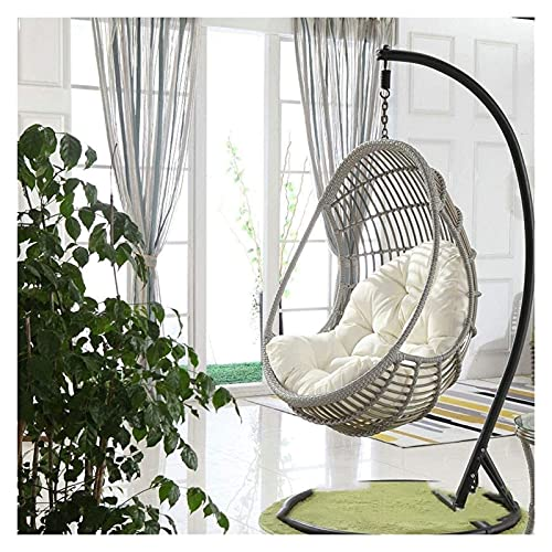 XiYou Garden Furniture Chair Cushions Swing Chair Cushion, Hanging Egg Hammock Chair Pads, Without Stand Multi Color Swing Seat Cushioning Thick Nest Hanging Chair Backation