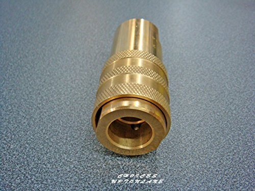 CATERQUIP COMMERCIAL GAS COOKER HOSE 3/4″ X QUICK RELEASE FITTING 1 MTR LENGTH