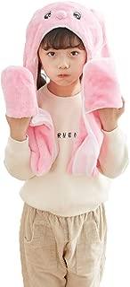 PULAMA Winter Animal Hat Set Cap 3-17yr Kids Cosplay Party Costume Toy