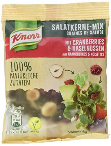 Knorr Salatkerne-Mix mit Cranberries und Haselnüssen 30g Beutel, 6er Pack (6 x 30)
