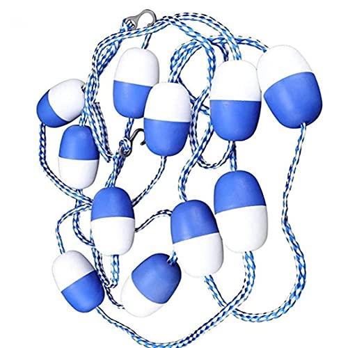 Swimmingpool Safety Seil 5m Floating Divider Seilspurlinie Poolausrüstung für Strände