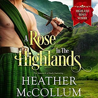 A Rose in the Highlands audiobook cover art