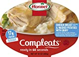 Hormel Compleats Chicken Breast with Rib Meat and Mashed Potatoes with Gravy, 10 Ounce, Pack of 6
