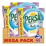 Persil Lessive Capsules 2 en 1 Bouquet de Provence Eco Pack 60 Lavages (Lot de 3x20 Lavages)