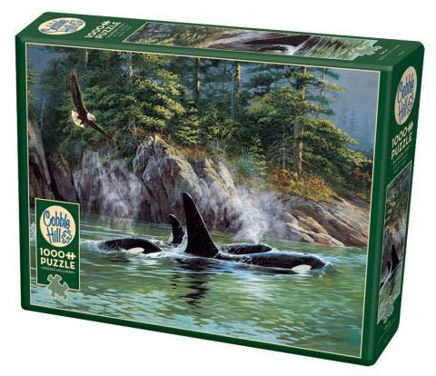 1000 piece puzzles orca - 1