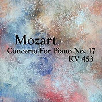 Mozart Concetro For Piano No. 17, KV 453