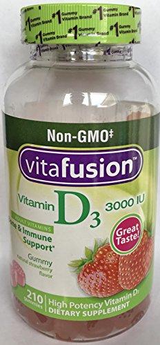vitafusion Vitamin D 2000 IU, 275 Adult Gummies