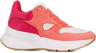 ALEXANDER MCQUEEN Luxury Fashion Womens 559706WHV637870 Pink Sneakers | Fall Winter 19