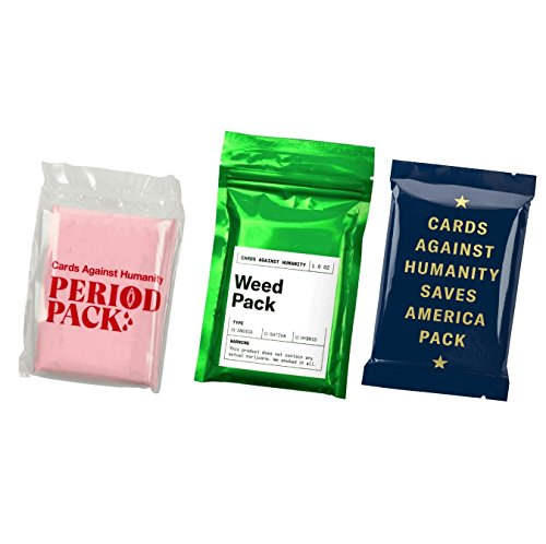 Cards Against amp Humanity Weed amp Period amp Saves America Pack