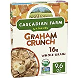 Cascadian Farm Organic Graham Crunch Cereal, 9.6 oz