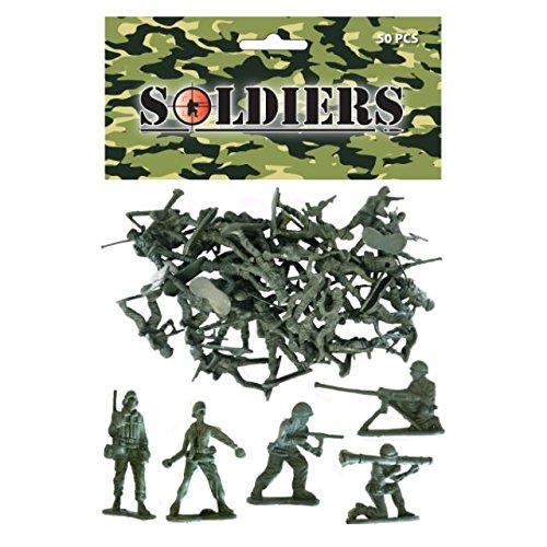 Sac de Soldats - Bataille Squad - Armée Figurines - 50 pièces