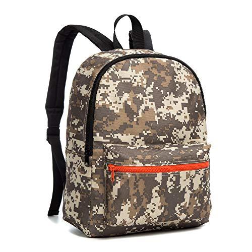 CAIWEI Vorschule Schultaschen, Armee Camouflage Kinder Kinder Rucksäcke Leichte Schulter Rucksack Daypack für Jungen und Mädchen (Snow camouflage)