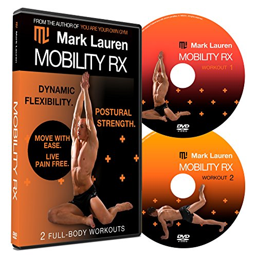 MARK LAUREN Bodyweight Workout DVD Mobility Rx DVD Set