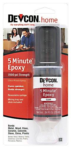 Devcon (20845-6PK) 5-Minute Epoxy - 25 ml Dev-Tube, (Pack of 6)