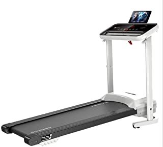 Jundo Home Used Multifunctional Folding Treadmill, Household electric treadmill with speaker folding mute fitness equipmen...