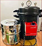 Dr. Steve Brand New Uni-clave One Year Warranty Unitech India Autoclave Sterilizer Dental with Ss Drum Steel, Electric, 11 Litres, Timer, for Clinic Laboratory Hospital Hydrothermal
