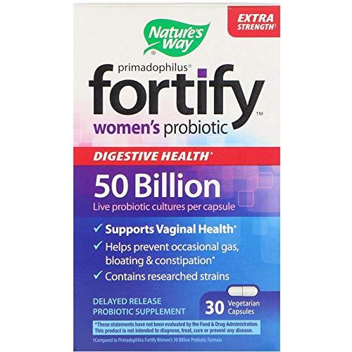 Nature's Way, Primadophilus, Fortify, Probiotikum für Frauen, Extra-Stärke, 30 vegetarische Kapseln