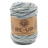 Lion Brand Yarn Re-Up yarn, Ash