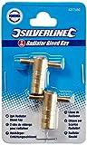 Silverline 427586 - Llaves para radiador, 2 piezas