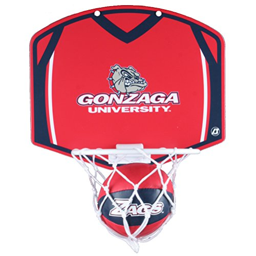 Buy Gonzaga Bulldogs Mini Basketball and Hoop Set