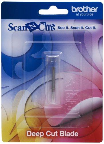 Brother CABLDF1 Scan-N-Cut Schneidmesser für Tiefschnitte silber