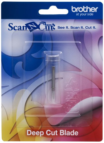Brother CABLDF1 Scan-N-Cut - Cuchilla para Cortes Profundos, Color Plateado