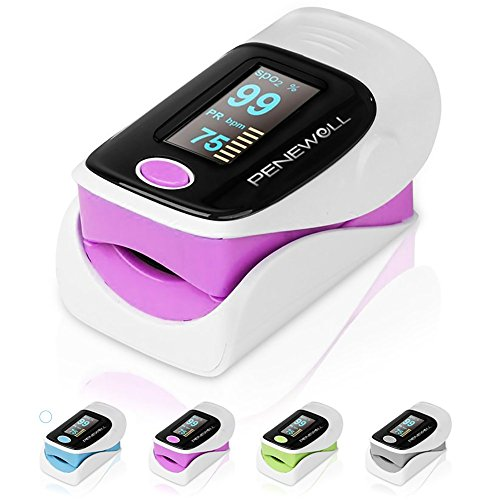 Finger Pulse Oximeter, Heart Rate...