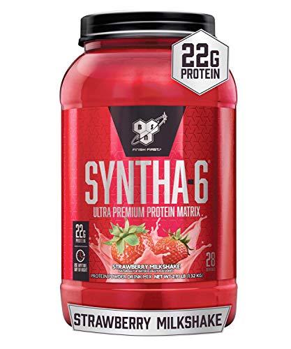 BSN SYNTHA-6 Whey Protein Powder, Micellar Casein, Milk Protein...