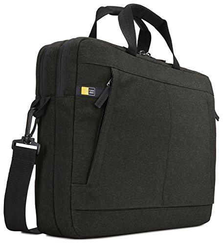 Hülle Logic Huxton Expanded Bag Tasche für Notebooks bis 39,6 cm (15,6 Zoll) Schwarz